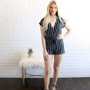 Other - Striped romper
